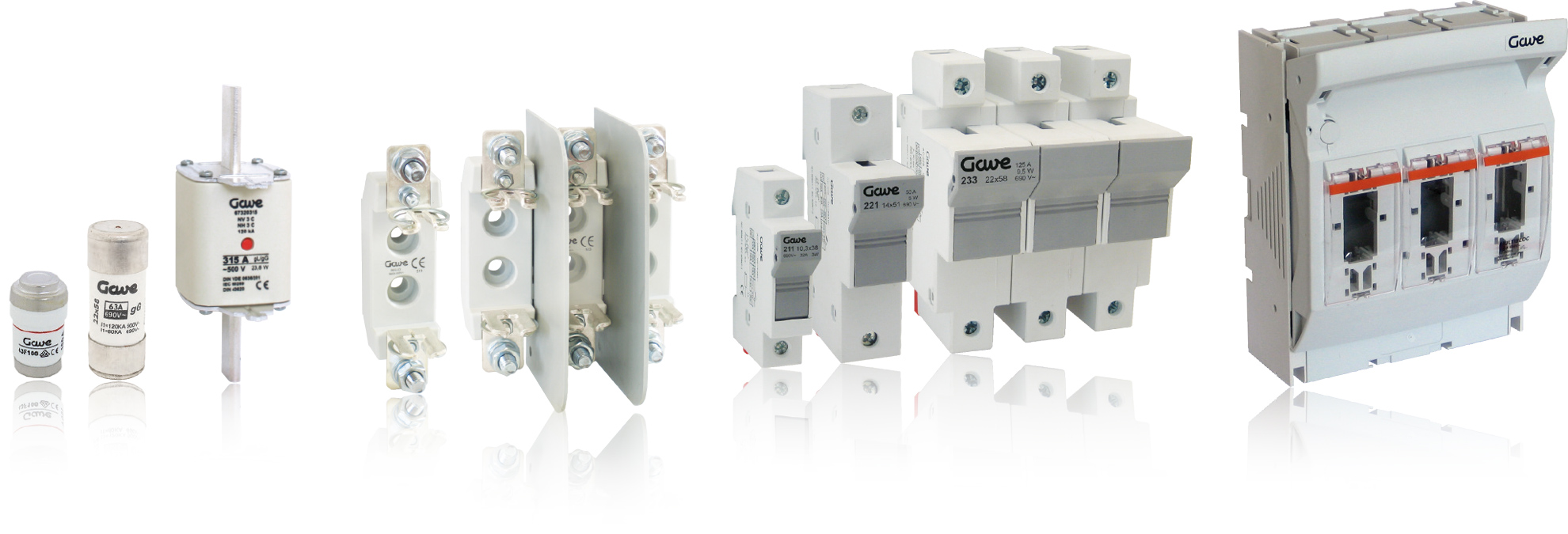 Gave Products Fuse Protection General Switch Breaker Box Fuses Range Overview Of